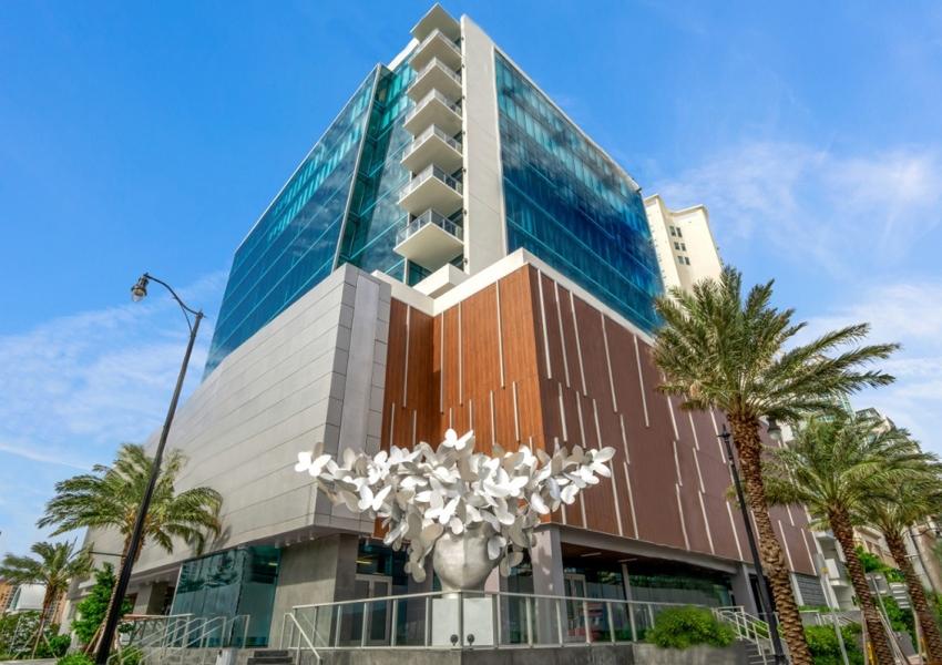 Milton Tower Facade