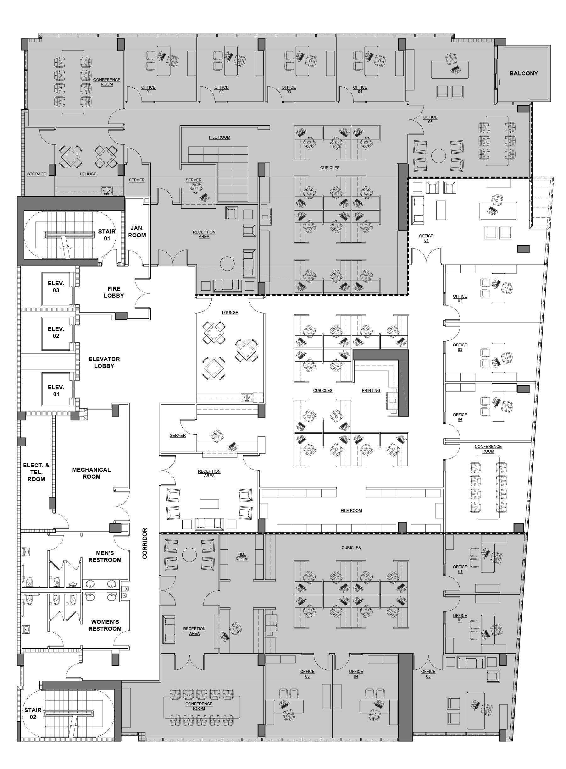 Milton Tower Floor plans 2