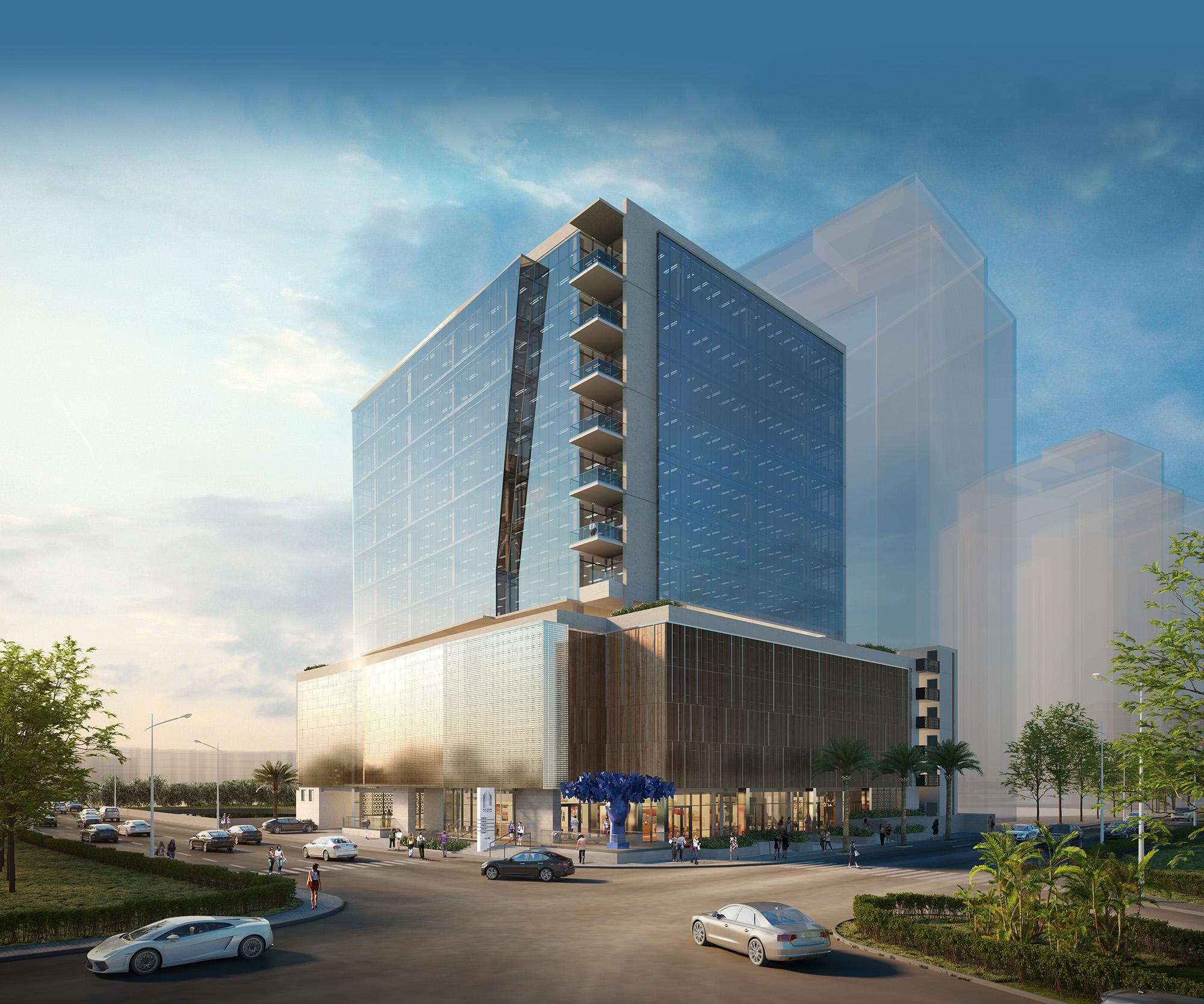 Milton tower digital rendering 2